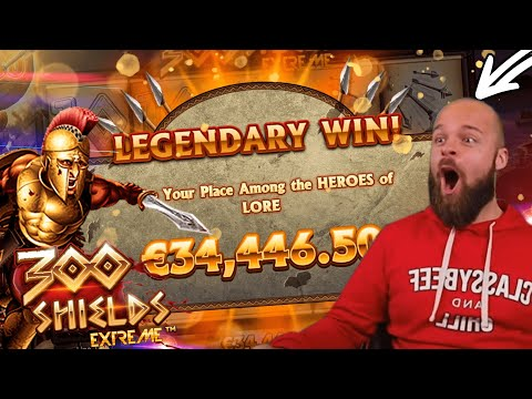 ClassyBeef Legendary Win 35.000€ on 300 shields extreme slot – TOP 5 Biggest wins of the week