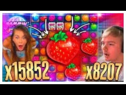Record win x15852 on Jammin Jars slot Top 5 BIG WINS in slot