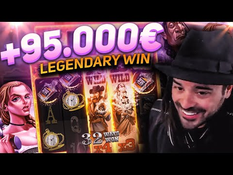 ROSHTEIN New Big Win 40.000€ on Deadwood slot – TOP 5 Mega wins of the week