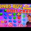 SWEET BONANZA BONUS BUY GOES CRAZY! | ONLINE CASINO SLOT BIG WIN