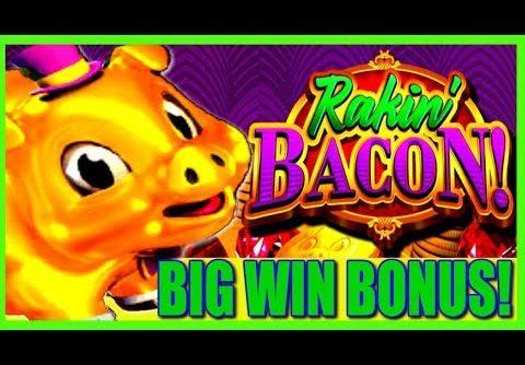 Rakin' Money! New Slot Rakin' Bacon BIG WIN Slot Bonus!   Slot Traveler