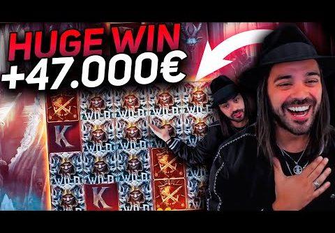 ROSHTEIN HUGE Win 45.000€ on Testament slot – TOP 5 Mega wins of the week