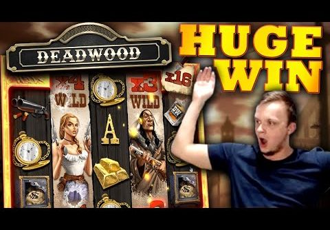MEGA BIG WIN on Deadwood Slot!