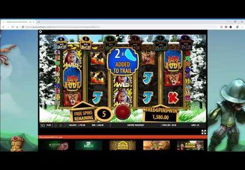 The Legend Of Bigfoot Slot Super Mega Win – Free Spins £20 Spins