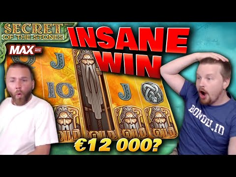 RECORD WIN in Secret of The Stones MAX – Biggest Win Ever By Far