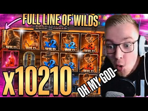 RECORD WIN X10200 DEAD OR ALIVE 2 SLOT 💰 TOP 5 BIGGEST WINS OF THE WEEK [#2]