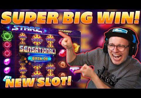 "Super Big Win on new Pragmatic Slot ""STARZ"" – OnlineCasino – Streamer"