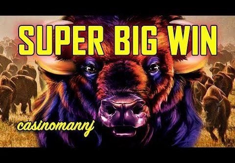 LOTS OF EAGLES! 🤑 SUPER BIG WIN!! – 🐂BUFFALO GRAND Slot 🐂-Slot Machine Bonus