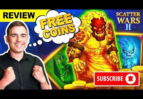 ⚔️ SCATTER WARS II TUTORIAL ⚔️ Lucky Mike Plays Scatter Slots / BIG WINS.