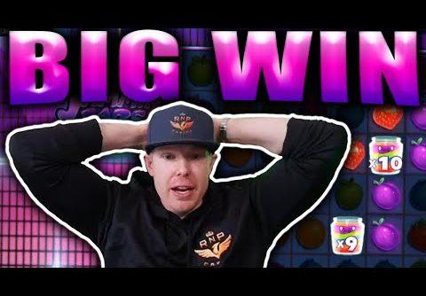 BIG WIN on JAMMIN JARS – Casino Slots Big Wins