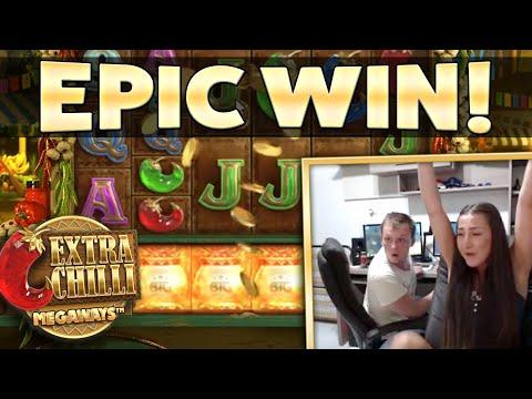 MEGA HUGE WIN – Extra Chilli Gamble!!