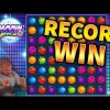RECORD WIN!!! Jammin Jars Huge Win – BIG WIN on Online Slots from MrGambleSlots
