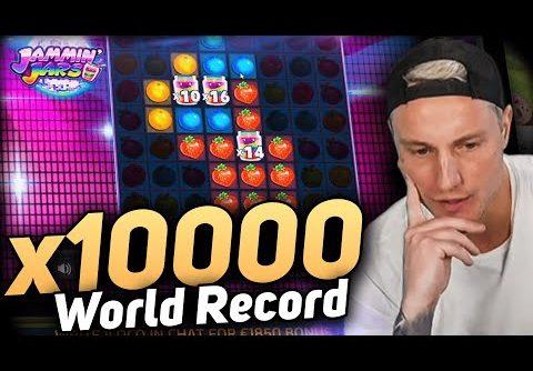 New World Record Win 100.000 € on Jammin Jars slot – CasinoDaddy BIGGEST WIN EVER!!