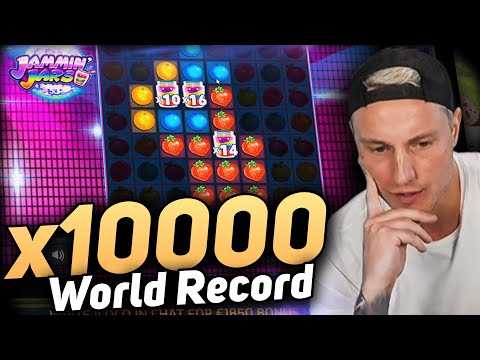 New World Record Win 100.000 € on Jammin Jars slot – CasinoDaddy BIGGEST WIN EVER!!