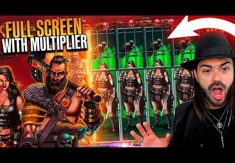 ROSHTEIN Mega Win  on new slot  Barbarian Fury  – TOP 5 Mega wins of the week