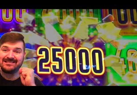 HUGE WIN on SLOT MACHINES At Dakota Magic Casino W/ SDGuy!