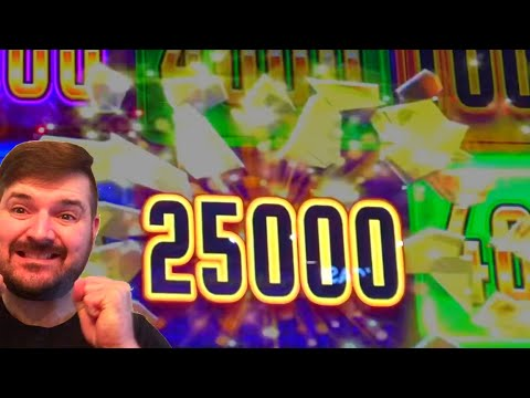 HUGE WIN on SLOT MACHINES At Dakota Magic Casino W/ SDGuy!