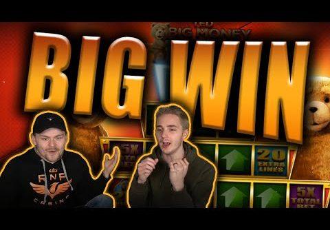 BIG WIN on TED Slot – Casino Stream Big Wins