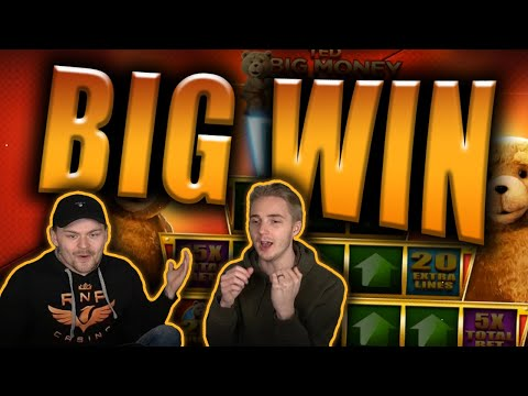 BIG WIN on TED Slot – Casino Stream Big Wins