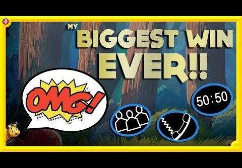My BIGGEST WIN EVER!! 50K SPECIAL HIGH STAKES ONLINE SLOTS 💰