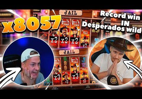 Streamer mega win x8057  in Desperados Wild – Top 5 Big wins in casino slot