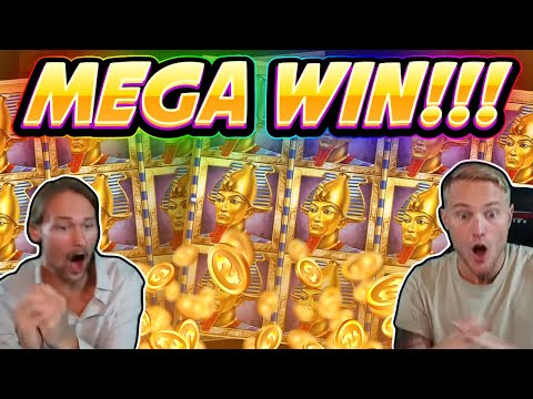 MEGA WIN!!! Book Of Dead BIG WIN – Casino game from CasinoDaddy Live Stream