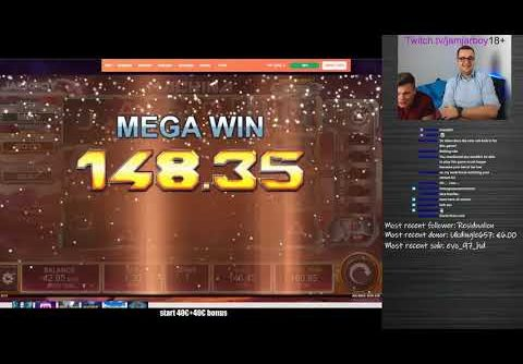 Jamjarboy MACHINA Slot 618x Insane game with insane potential! MEGA WIN
