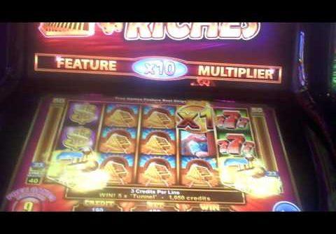 Roaring Riches Slot Machine BIG WIN Bonus