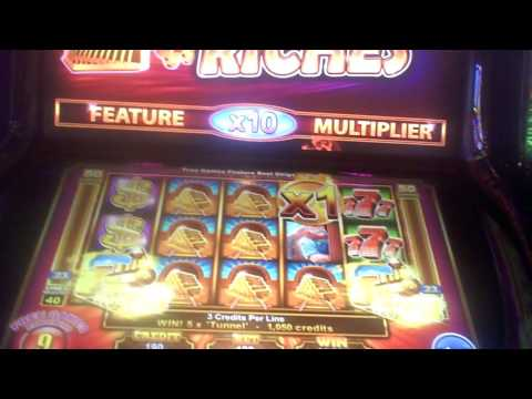 Roaring Riches Slot Machine BIG WIN Bonus