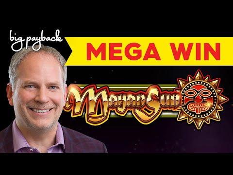 IT FINALLY HAPPENED! Mayan Sun Slot – MEGA WIN BONUS!