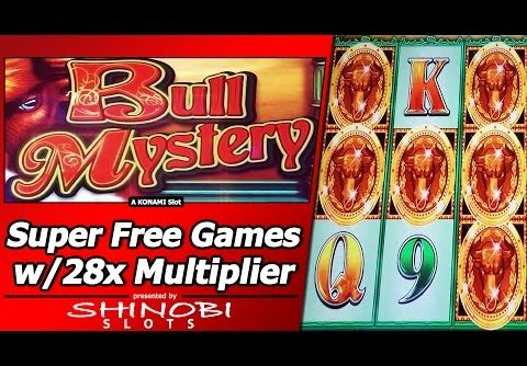 Bull Mystery Slot – Super Free Games, Big Win with 28x Multiplier!
