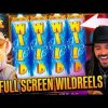 ROSHTEIN Full Screen Win  on The Wild Machine slot   TOP 5 Mega wins of the week