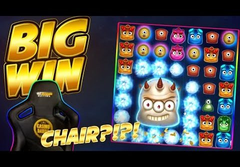 CHAIRS BIG WIN!! Reactoonz BIG WIN – Casino Slots from Casinodaddys live stream
