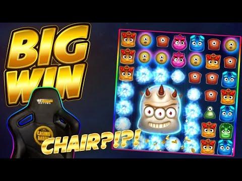 CHAIRS BIG WIN!! Reactoonz BIG WIN – Casino Slots from Casinodaddys live stream