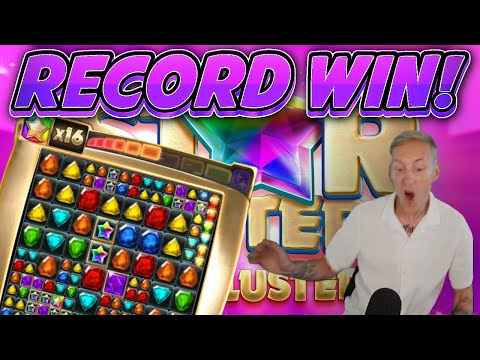 BIG WIN!!! ERIK GETS THE BIGGEST WIN ON STAR CLUSTER NEW CASINO GAME FROM BTG!!