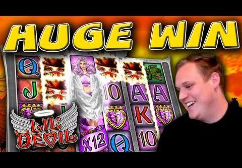 €20 Bonus MEGA BIG WIN on Lil' Devil slot!