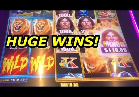 TARZAN GRAND SLOT – GIANT BONUS WINS!!