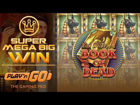 BIG WIN! HUGE WIN – Slot Book of Dead x2000