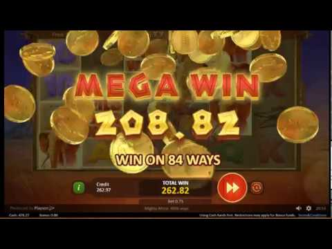 Playson – Mighty Africa – Mega Win [+ Afterplay Bonuses]