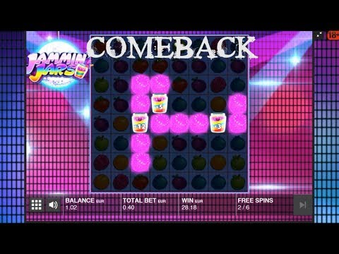 Jamming Jars – WHAT A COMEBACK! Mega Win!