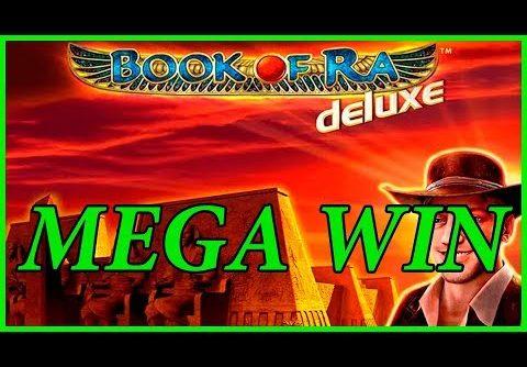 Book of Ra Deluxe slot – FULL SCREEN MEGA WIN!!
