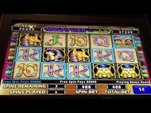 Cleopatra II Slot Machine — Big Wins — Max Bet