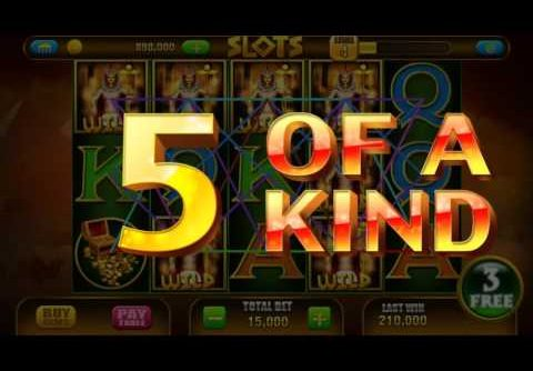 Slot Pharaoh 🎰 Android Gameplay Vegas Casino Slot Jackpot Big Mega Wins Spins