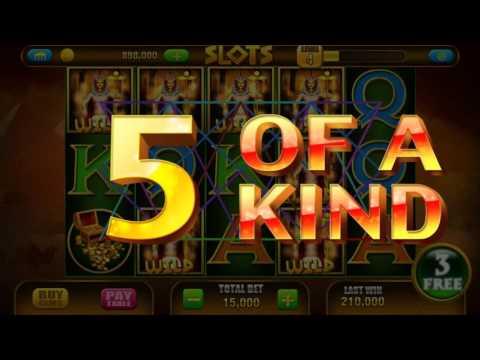 Slot Pharaoh 🎰 Android Gameplay Vegas Casino Slot Jackpot Big Mega Wins Spins