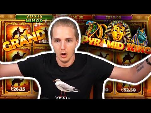 HUGE WIN on PYRAMID KING – Casino Slots Big Wins