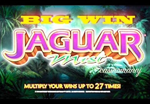 Jaguar Mist – BIG WIN! – +RETRIGGERS – Slot Machine Bonus