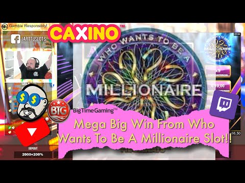 Mega Big Win From Who Wants To Be A Millionaire Slot!!