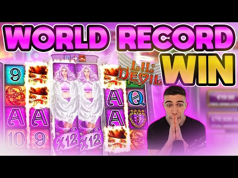 WORLD RECORD WIN ON LIL DEVIL ONLINE SLOT – MY BIGGEST WIN EVER