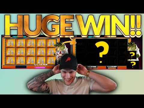 MEGA WIN! Gator King Big win – HUGE WIN on Casino slots from Casinodaddy