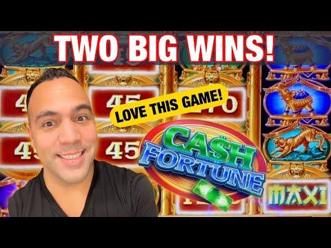 💰CA$H FORTUNE Slot Machine BIG WIN BONUS!!   More, More, RESPINS!! 🎉 🎰 👑